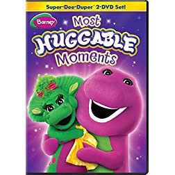 Barney: Most Huggable Moments Super-Dee-Duper 2-DVD Set