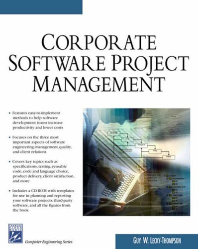 Corporate Software Project Management (Charles River Media Computer Engineering)
