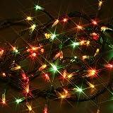 【ソーラー】LEDイルミネーション 100球 マルチ【充電式ライト/キャンドル/非常用】
