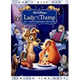 New BR Lady and The Tramp (DVD, 2006, 2-Disc Set)
