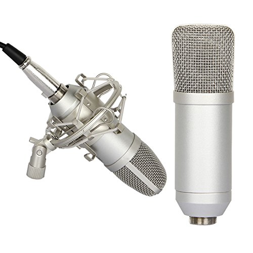 Accmart-Ultra-Light-Condenser-Microphone-Shock-Mount-Mic-Foam-Cap-for-Sound-Studio-Recording