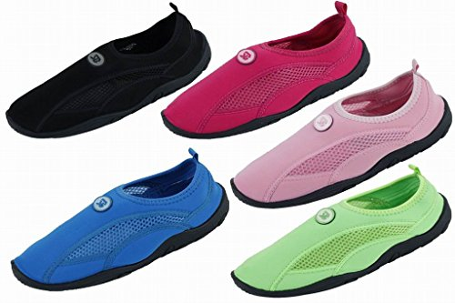 Brand New Women's Slip-On Athletic Water Shoes / Aqua Socks Available In 5 Colors