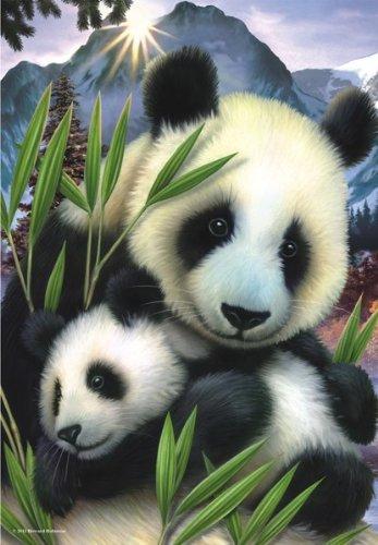 Panda Jigsaw Puzzle, 260-Piece