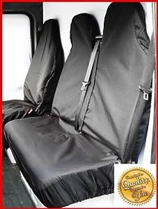 Mercedes Vito 96-03 108 DI Heavy Duty Van Seat Covers / Protectors - Black
