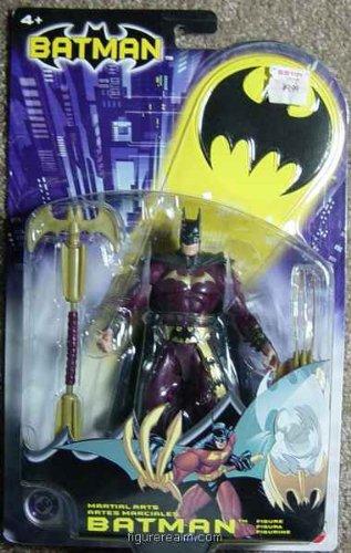 Batman Mattel Action Figure Martial Arts Batman