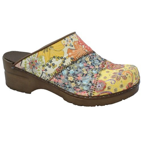 FACTORY 2ND - Sanita Sonja Daisy in Yellow Multi Fabric - 41