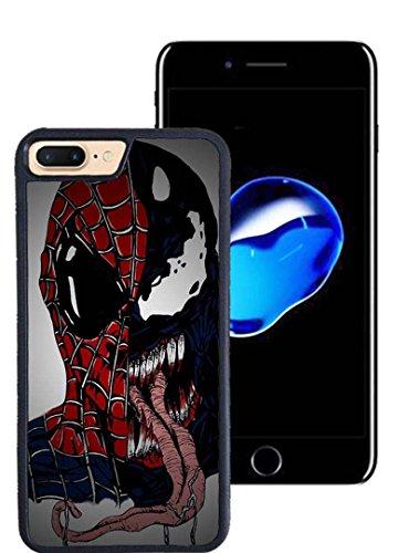 Apple iPhone 7 Plus (5.5 Pollici)Custodia Case Cover, Venom Spiderman Marvel Comics Custodia Venom Spiderman DC Comics Shell per iPhone 7 Plus
