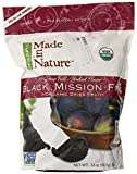 Made in Nature Organic Sun Dried Black Mission Figs in Resealable Bag, 32-ounces