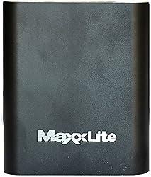 Maxxlite 10400mAh Aluminum Casing Power Bank Black