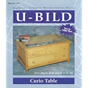 Curio Table Plans