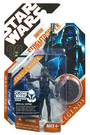 Star Wars 30th Anniversary Saga 2007 Legends Action Figure Shadow Stormtrooper - Buy Star Wars 30th Anniversary Saga 2007 Legends Action Figure Shadow Stormtrooper - Purchase Star Wars 30th Anniversary Saga 2007 Legends Action Figure Shadow Stormtrooper (Hasbro, Toys & Games,Categories)