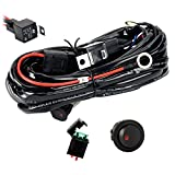 Eyourlife 12V 40A Off Road LED LIGHT Bar On Off Power Switch Relay Wiring Harness