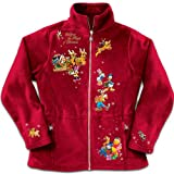 Disney Characters Fleece Jacket: Magic Of Christmas by The Bradford Exchange