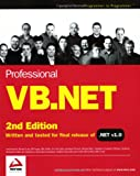 Professional VB.NET, Second Edition (0764544004) by Barwell, Fred