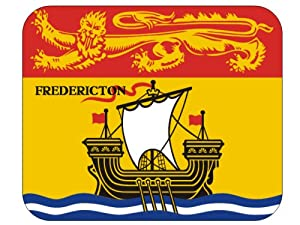 Canadian Province - New Brunswick, Fredericton Mouse Pad