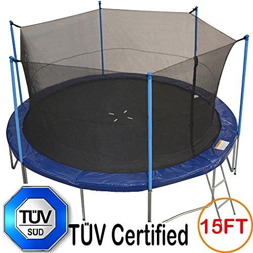 T 220 V Approved Zupapa 174 15ft 14ft 12ft Trampoline With Ladder