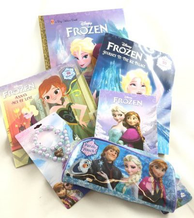 [6 Pc Disney Frozen Play Set] (Elsa Halloween Costume Drinking Game)