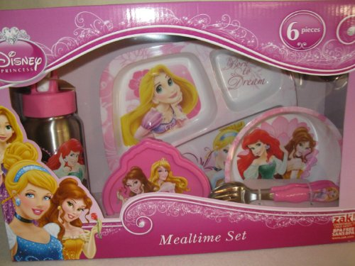 Disney Princess Mealtime Set - 6 Pieces