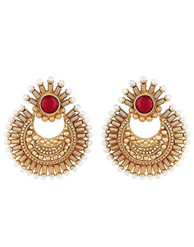 Shining Diva Stylish Fancy Party Wear Traditional Jhumka Earrings For Girls & Women
