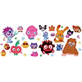 Fun4Walls Moshi Monsters Repositionable Wall Stickers