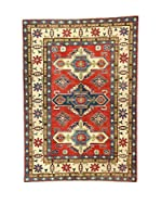 Eden Alfombra Uzebekistan Super Rojo/Azul/Multicolor 145 x 204 cm