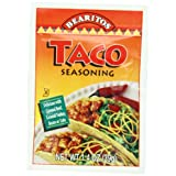 Bearitos Taco Seasoning, 1.4 Ounce Units (Pack of 12)