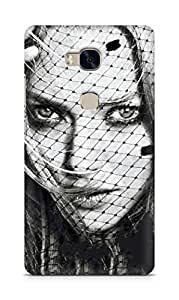 Amez designer printed 3d premium high quality back case cover for Huawei Honor 5X (Amanda seyfried glamour girl face art)