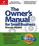 img - for Owner's Manual for Small Business by Abrams, Rhonda [Planning Shop,2005] [Paperback] book / textbook / text book