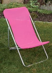 liegestuhl f r kinder gartenstuhl liege strandliege pink. Black Bedroom Furniture Sets. Home Design Ideas