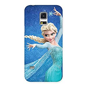 Enticing Premier Angel Princess Multicolor Back Case Cover for Galaxy S5 Mini