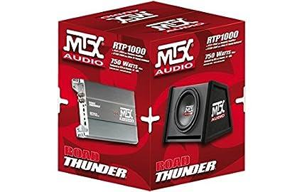 Ea Performance - Pack Mtx Audio Trp1000 Ampli Rt251 + Caisson Rt12Dv 250W Rms