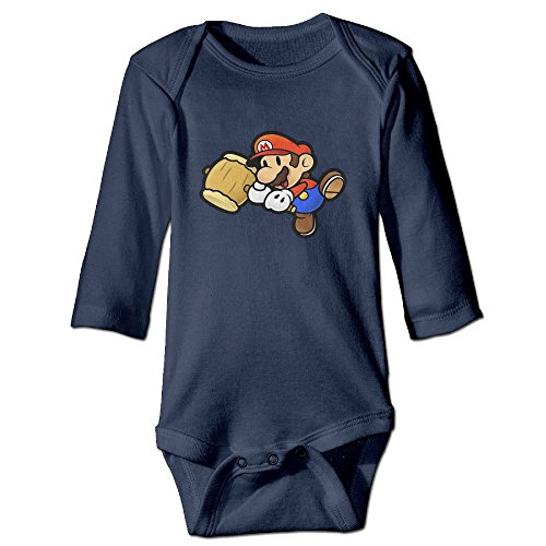 [DETED Mario Fashion Baby Girls Boys Climb Romper Size12 Months Navy] (Racer Girl Romper Costumes)