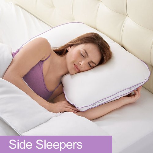 Best pillow for side sleepers with broad shoulders for Best down pillow for back sleepers