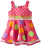 Little Lass Baby-Girls Newborn 1 Piece Dress