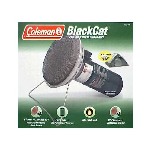 Coleman 5038 800 BlackCat Perfectemp Catalytic Propane Heater