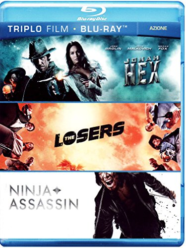 Jonah Hex + The losers + Ninja assassin [Blu-ray] [IT Import]