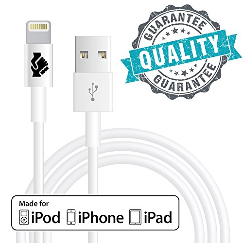 Apple-MFi-Certified-iPhone-6-Cord-Charger-Lightning-Connector-Cable-by-Trusted-Cables-2-Pack-8-Pin-to-USB-Cable-3ft-1m-for-iPhone-6-6Plus-5s-5c-5-iPad-Air-Air2-Mini-Mini2-iPad-4th-Gen-iPod-Touch-5th-g