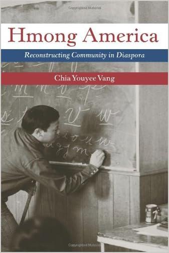 Hmong America : reconstructing community in diaspora