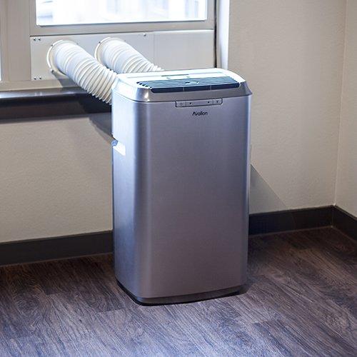 Avallon 12,000 BTU Dual Hose Portable Air Conditioner - No Draining Required (Air Conditioner No Hose compare prices)