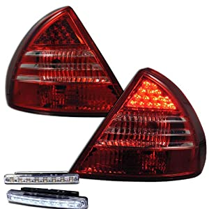 OE Replacement Mitsubishi Mirage Driver Side Taillight Assembly (Partslink Number MI2800104)
