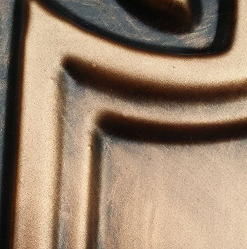 PL16 peint imitation dalles de plafond en laiton vieilli 3D Décoration Café pub shop Panneaux muraux 10pieces/lot