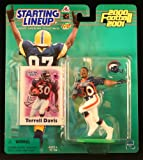 TERRELL DAVIS / DENVER BRONCOS 2000-2001 NFL Starting Lineup Action Figure & Exclusive NFL Collector Trading Card at Amazon.com