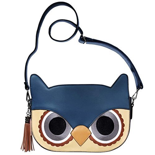 bmc-femmes-simili-cuir-chouette-face-en-forme-animal-epaule-sac-a-main-mode-synthetique-bleu-tete-fe