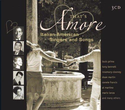Thats Amore-Italian-American Singers & Songs