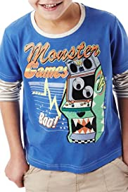 Pure Cotton Monster Games T-Shirt [T88-1073P-S]