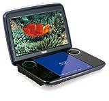 RCA BRC3108 10-Inch Portable Blu-ray Player, Blue/Black