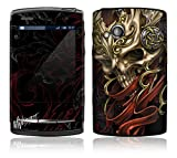 Celtic Skull Design Protective Skin Decal Sticker for Sony Ericsson Xperia X10 Mini PRO Cell Phone
