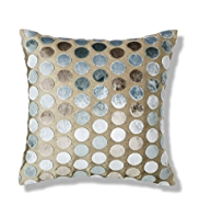 Cut Velvet Spotted Cushion
