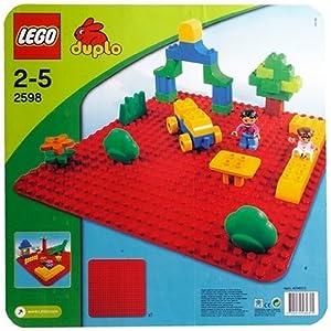 Plaque de base Grand Modèle rouge: Jeux et Jouets
