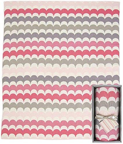 Weegoamigo Knitted Blanket- Ric Rac Alice - 1